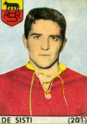 De Sisti sulle figurine Baggioli 1964/65