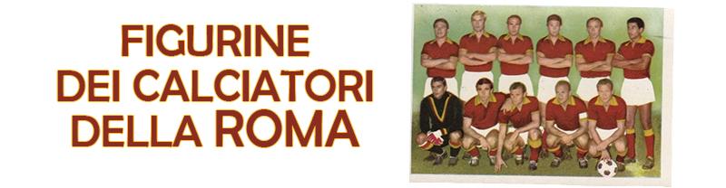 Figurine dei calciatori della Roma